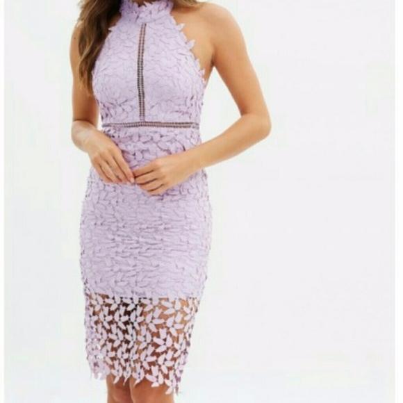 9d88881b Bardot Dresses & Skirts - NWT Bardot Dress | Orchid Lace Halter Dress